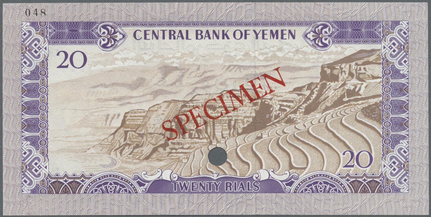 Lot 2262 - Yemen / Jemen | Banknoten  -  Auktionshaus Christoph Gärtner GmbH & Co. KG Banknotes & Coins Auction #39 Day 2