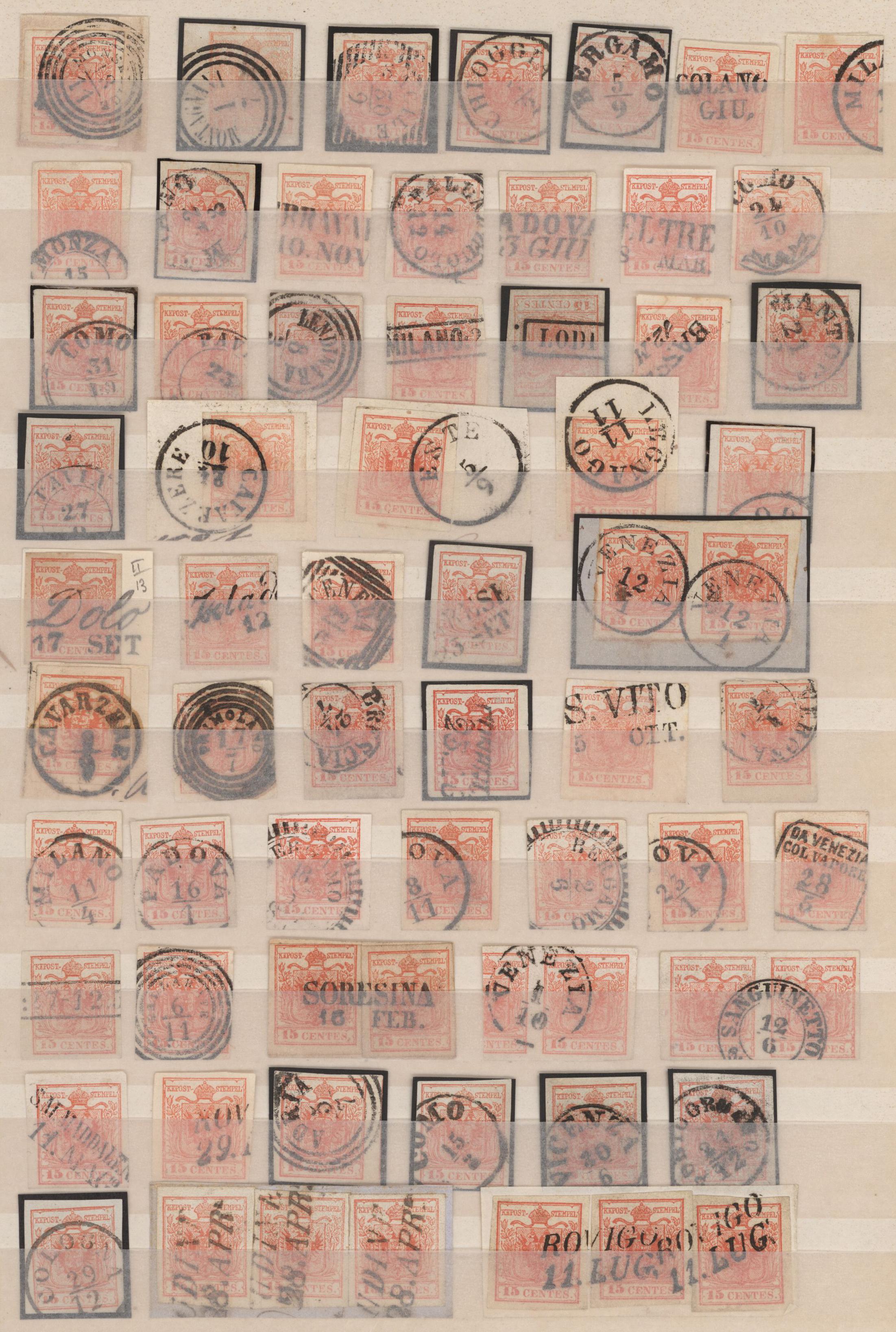 Lot 25001 - Österreich - Lombardei und Venetien  -  Auktionshaus Christoph Gärtner GmbH & Co. KG Sale #46 Collections Worldwide