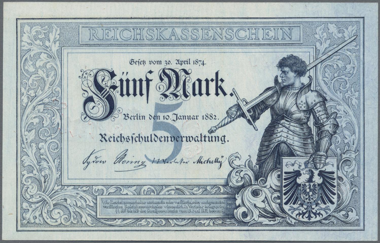 Lot 03315 - Deutschland - Deutsches Reich bis 1945 | Banknoten  -  Auktionshaus Christoph Gärtner GmbH & Co. KG Sale #45 Banknotes Germany/Numismatics