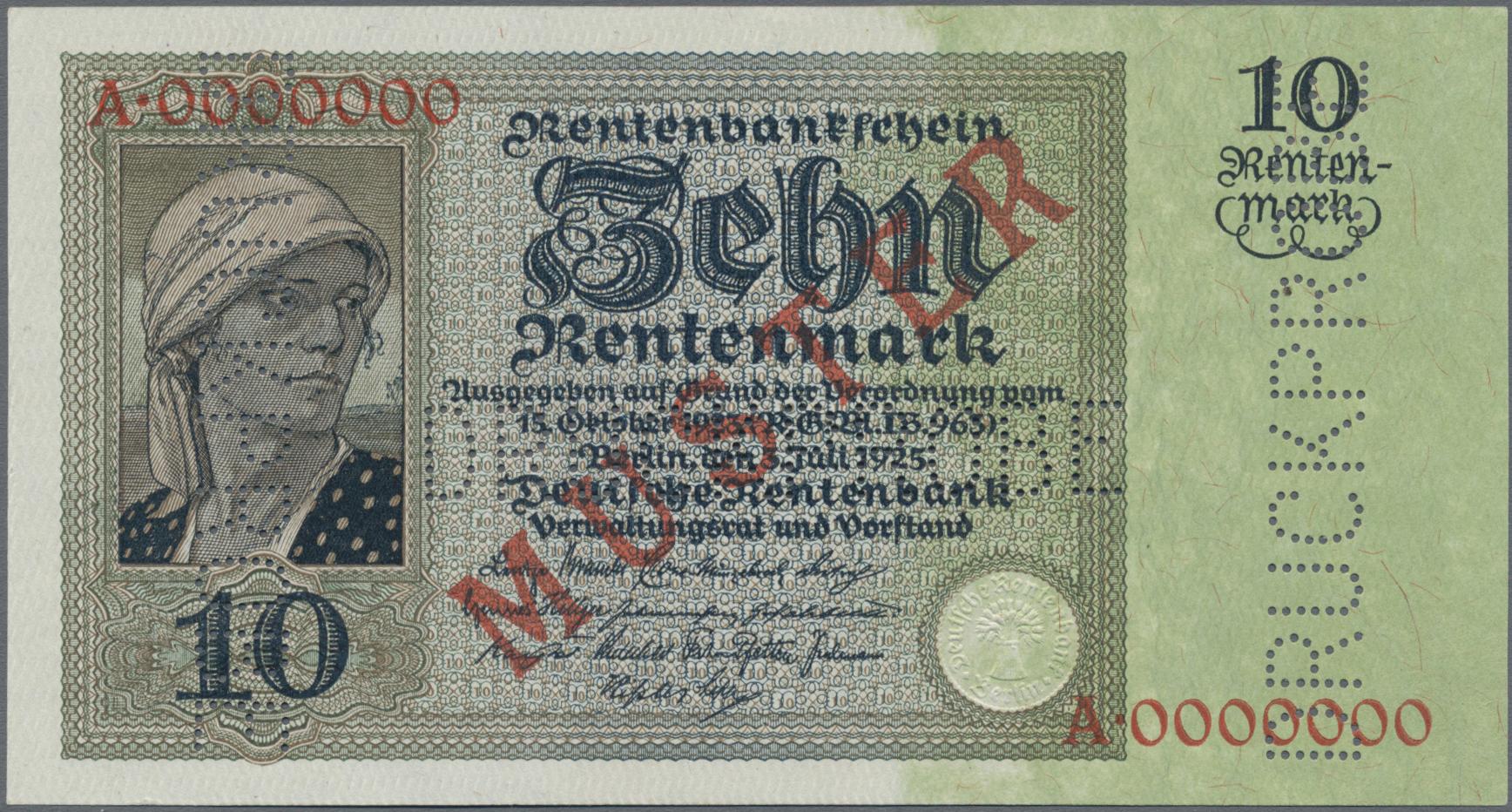Lot 03361 - Deutschland - Deutsches Reich bis 1945 | Banknoten  -  Auktionshaus Christoph Gärtner GmbH & Co. KG Sale #45 Banknotes Germany/Numismatics