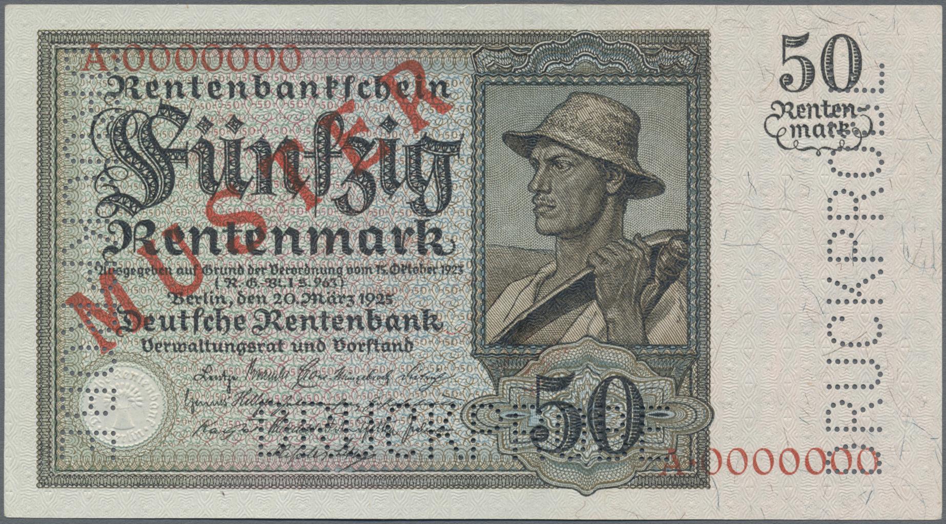 Lot 03360 - Deutschland - Deutsches Reich bis 1945 | Banknoten  -  Auktionshaus Christoph Gärtner GmbH & Co. KG Sale #45 Banknotes Germany/Numismatics