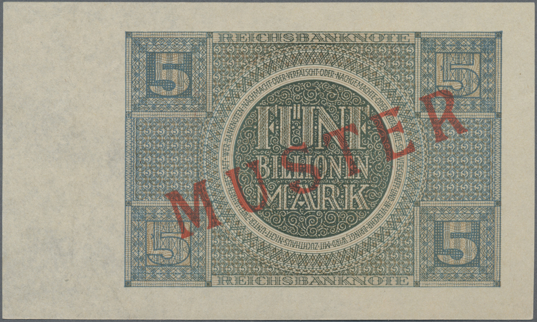 Lot 03350 - Deutschland - Deutsches Reich bis 1945 | Banknoten  -  Auktionshaus Christoph Gärtner GmbH & Co. KG Sale #45 Banknotes Germany/Numismatics