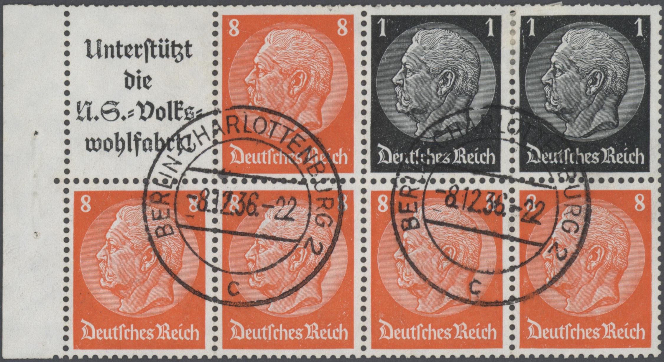 Lot 31709 - Deutsches Reich - Zusammendrucke  -  Auktionshaus Christoph Gärtner GmbH & Co. KG Auction #40 Collections Germany, Wunderkartons