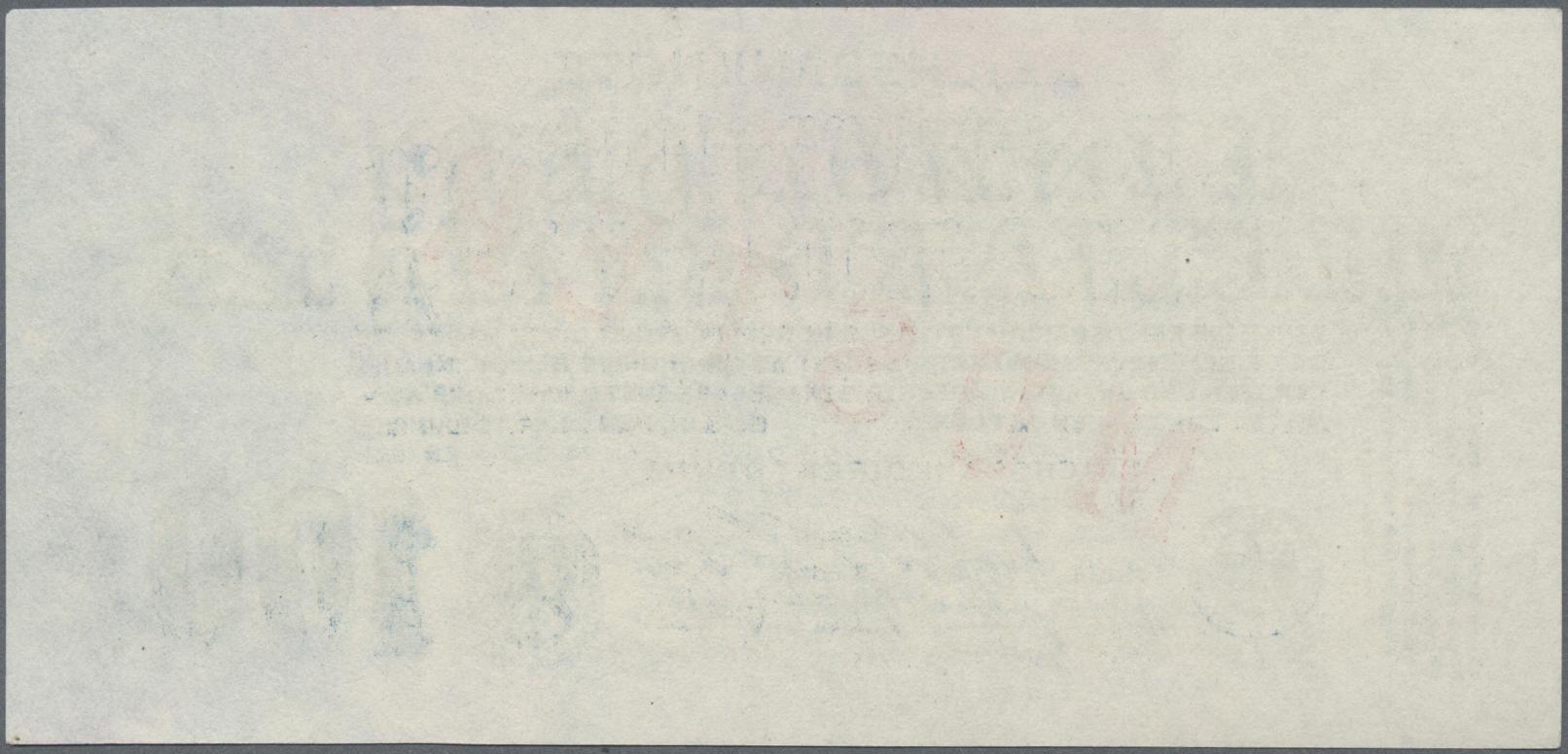 Lot 03344 - Deutschland - Deutsches Reich bis 1945 | Banknoten  -  Auktionshaus Christoph Gärtner GmbH & Co. KG Sale #45 Banknotes Germany/Numismatics