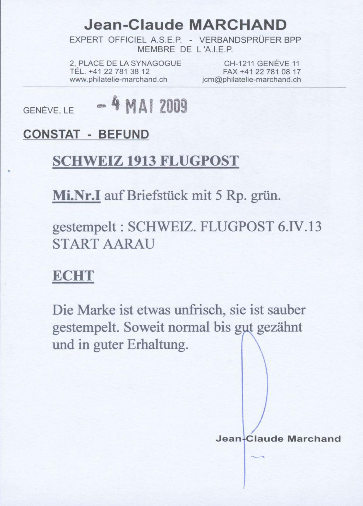 Lot 18970 - Schweiz - Halbamtliche Flugmarken  -  Auktionshaus Christoph Gärtner GmbH & Co. KG Single lots Philately Overseas & Europe. Auction #39 Day 4