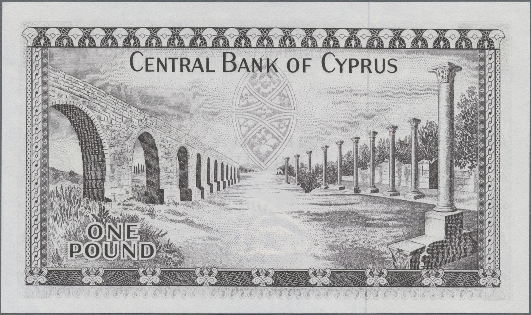 Lot 00160 - Cyprus / Zypern | Banknoten  -  Auktionshaus Christoph Gärtner GmbH & Co. KG Sale #48 The Banknotes