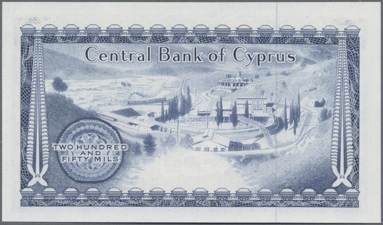 Lot 00158 - Cyprus / Zypern | Banknoten  -  Auktionshaus Christoph Gärtner GmbH & Co. KG Sale #48 The Banknotes