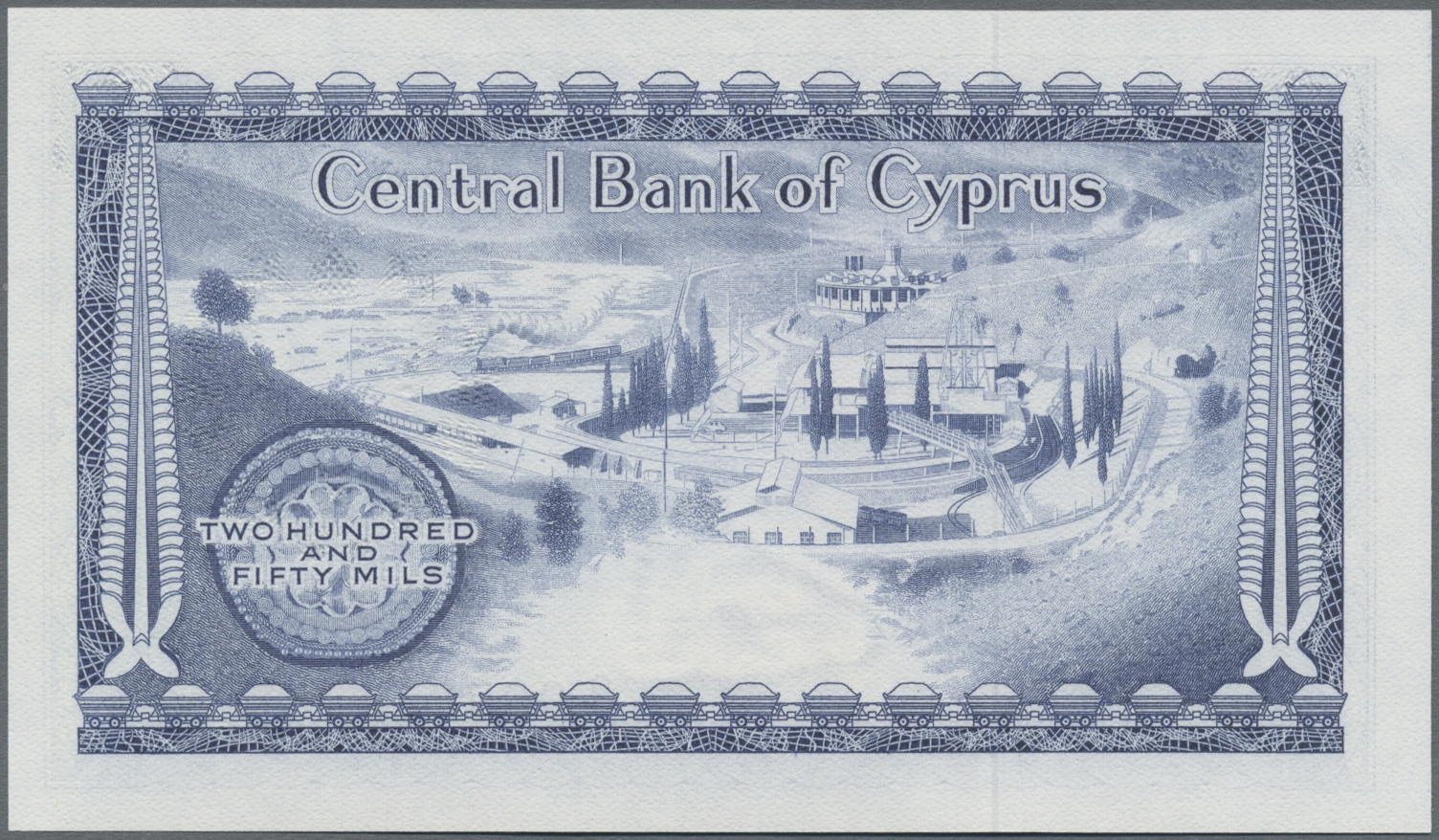 Lot 00159 - Cyprus / Zypern   Banknoten  -  Auktionshaus Christoph Gärtner GmbH & Co. KG Sale #48 The Banknotes