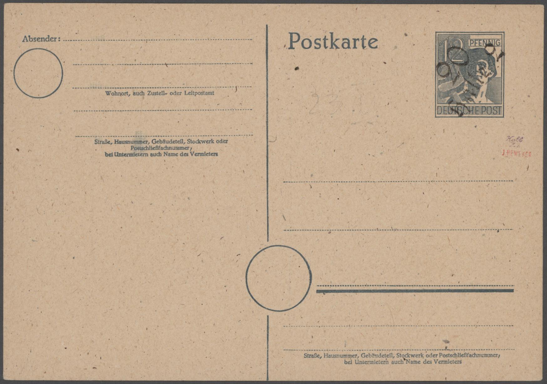 Lot 19667 - nachlässe  -  Auktionshaus Christoph Gärtner GmbH & Co. KG Sale #48 Estates, supplement Germany before & after 1945