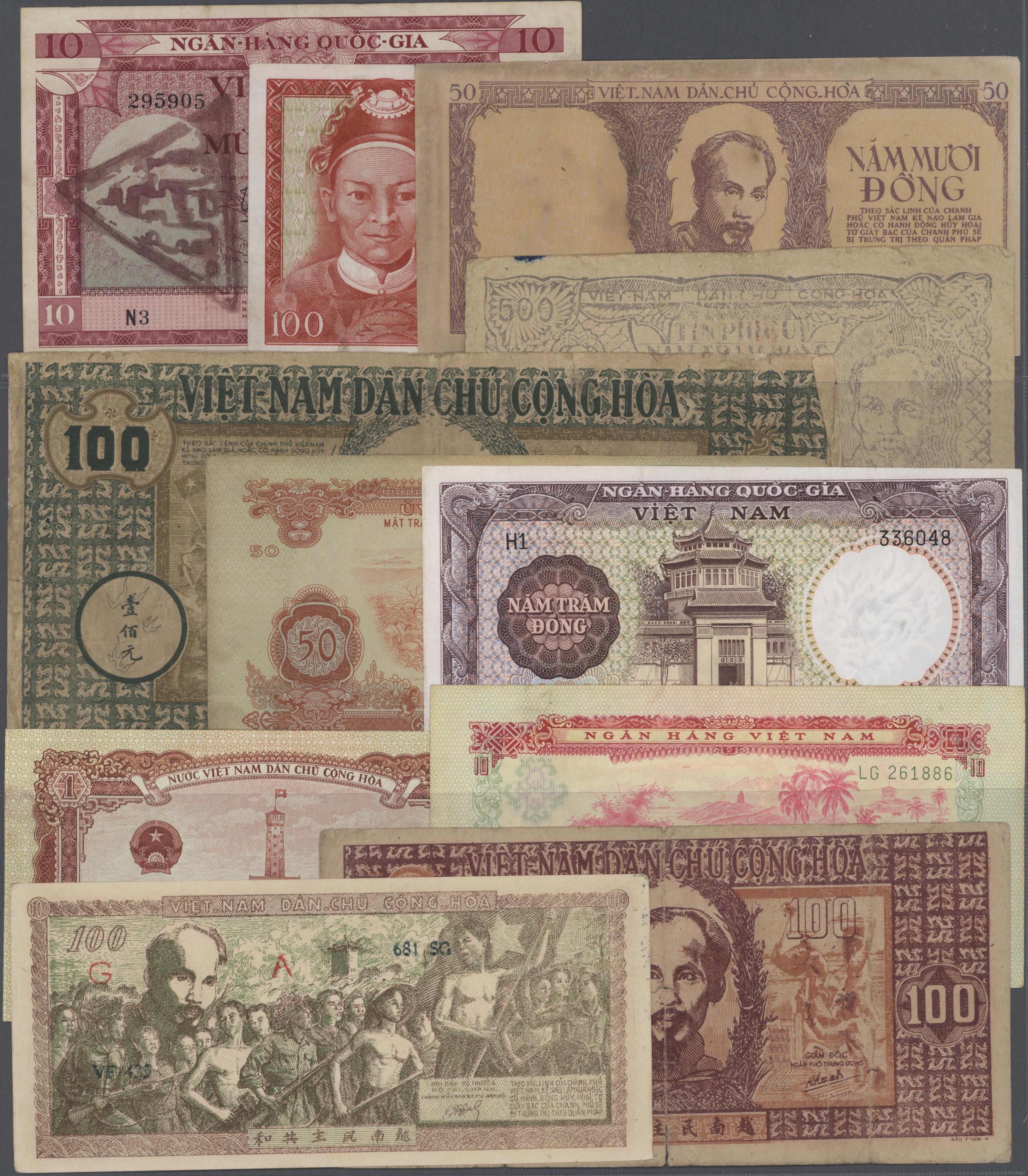 Lot 2680 - Vietnam | Banknoten  -  Auktionshaus Christoph Gärtner GmbH & Co. KG Banknotes & Coins Auction #39 Day 2