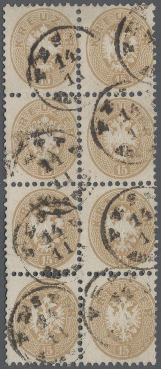 Lot 09620 - Österreich - Verwendung in Ungarn  -  Auktionshaus Christoph Gärtner GmbH & Co. KG Sale #48 The Single Lots Philatelie