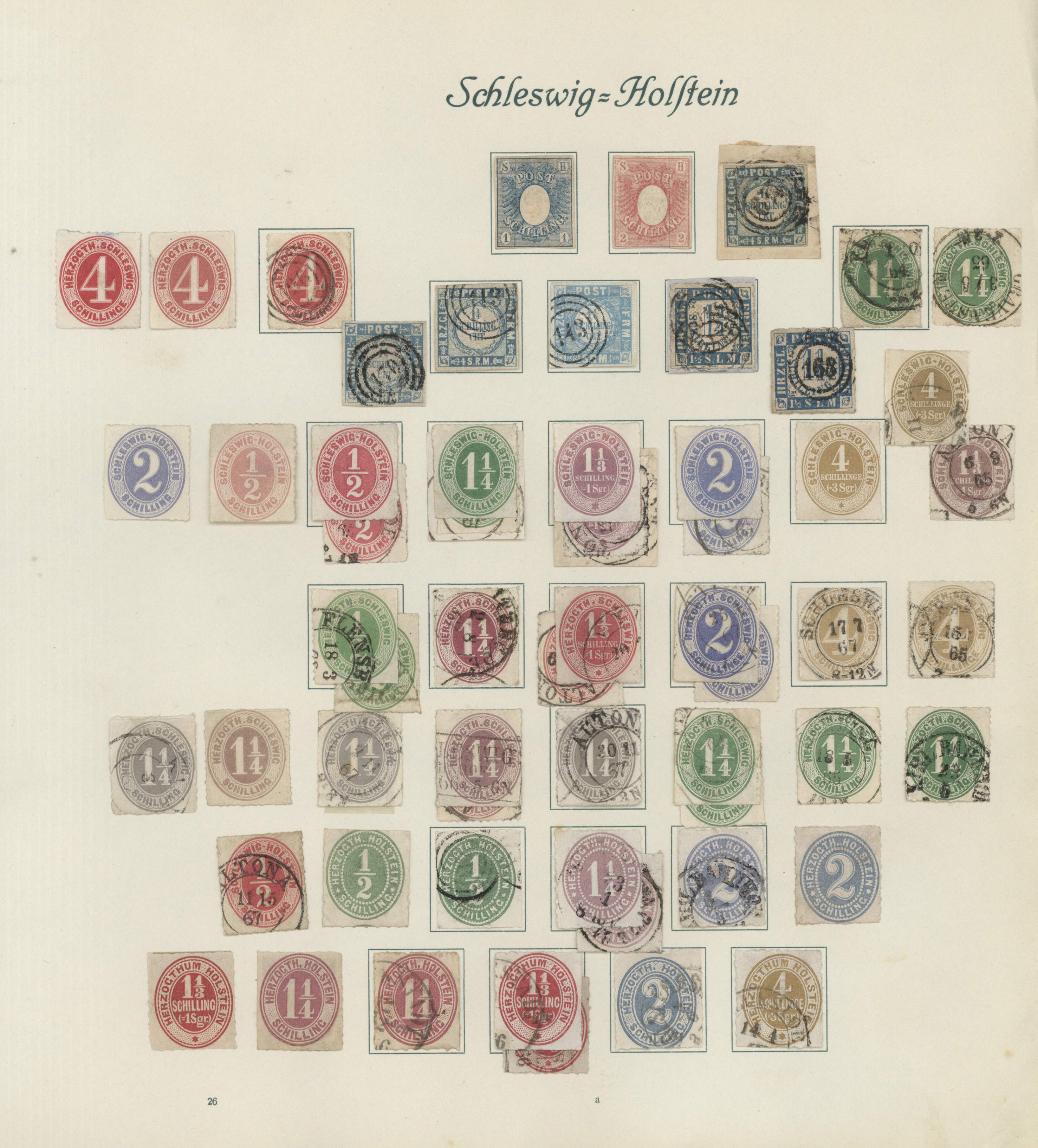 Lot 36475 - Schleswig-Holstein - Marken und Briefe  -  Auktionshaus Christoph Gärtner GmbH & Co. KG Collections Germany,  Collections Supplement, Surprise boxes #39 Day 7