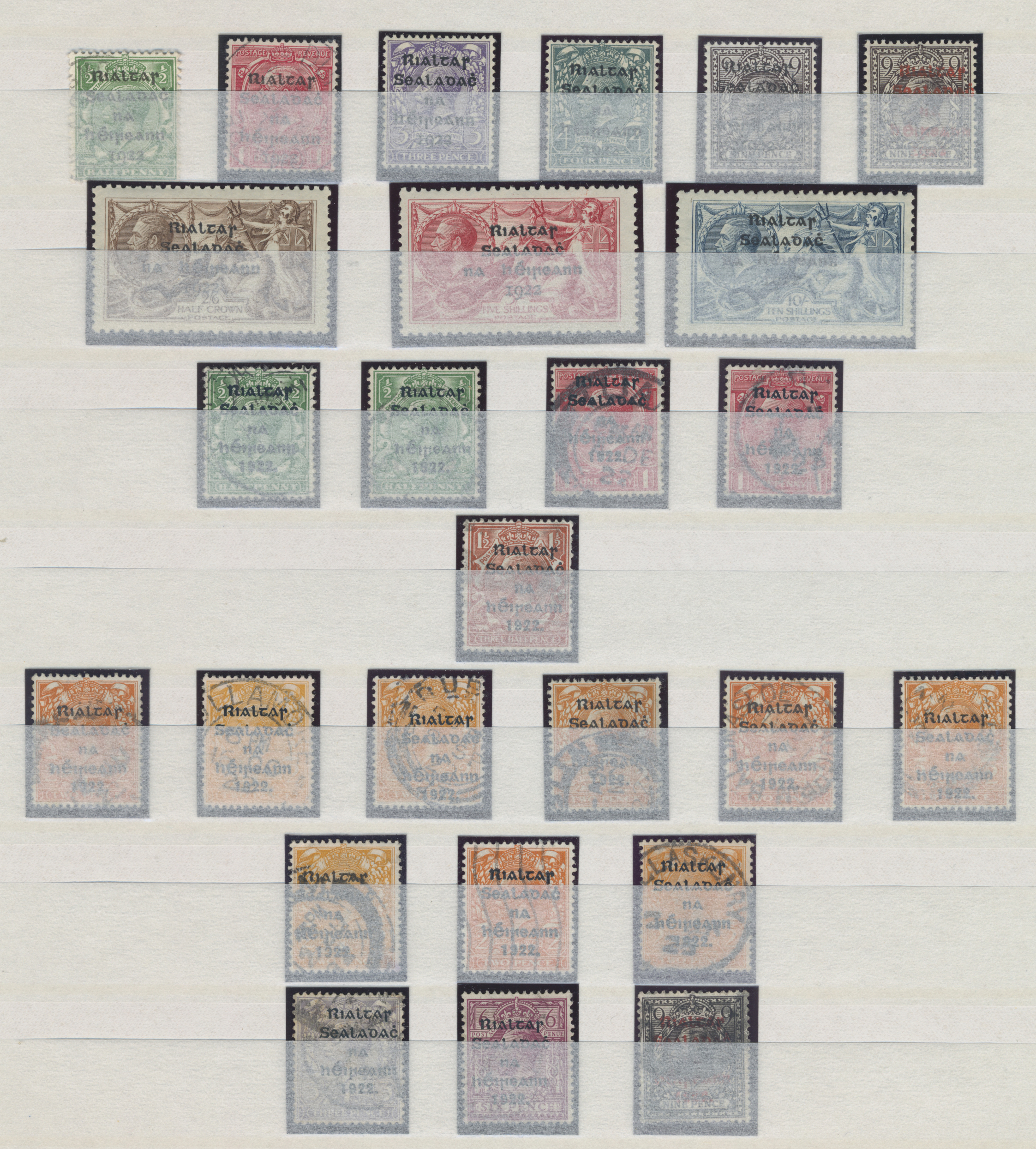 Lot 17154 - irland  -  Auktionshaus Christoph Gärtner GmbH & Co. KG Sale #48 collections Overseas  Airmail / Ship mail & Thematics