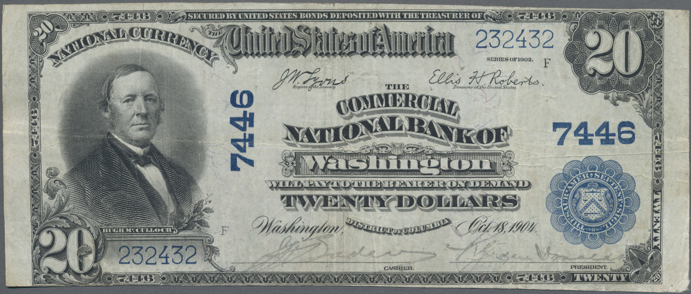 Lot 00911 - United States of America | Banknoten  -  Auktionshaus Christoph Gärtner GmbH & Co. KG Sale #48 The Banknotes