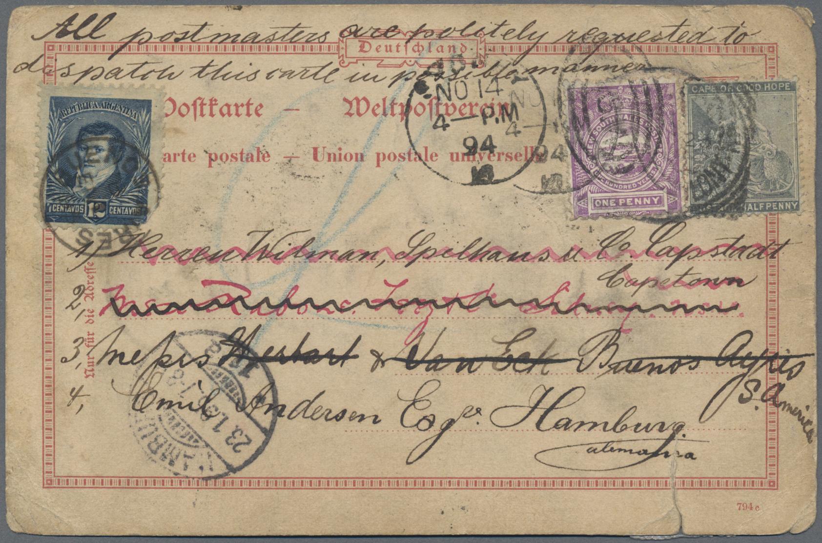 Lot 03007 - neusüdwales  -  Auktionshaus Christoph Gärtner GmbH & Co. KG Sale #49 Special catalogue Australia, USA – Wells Fargo