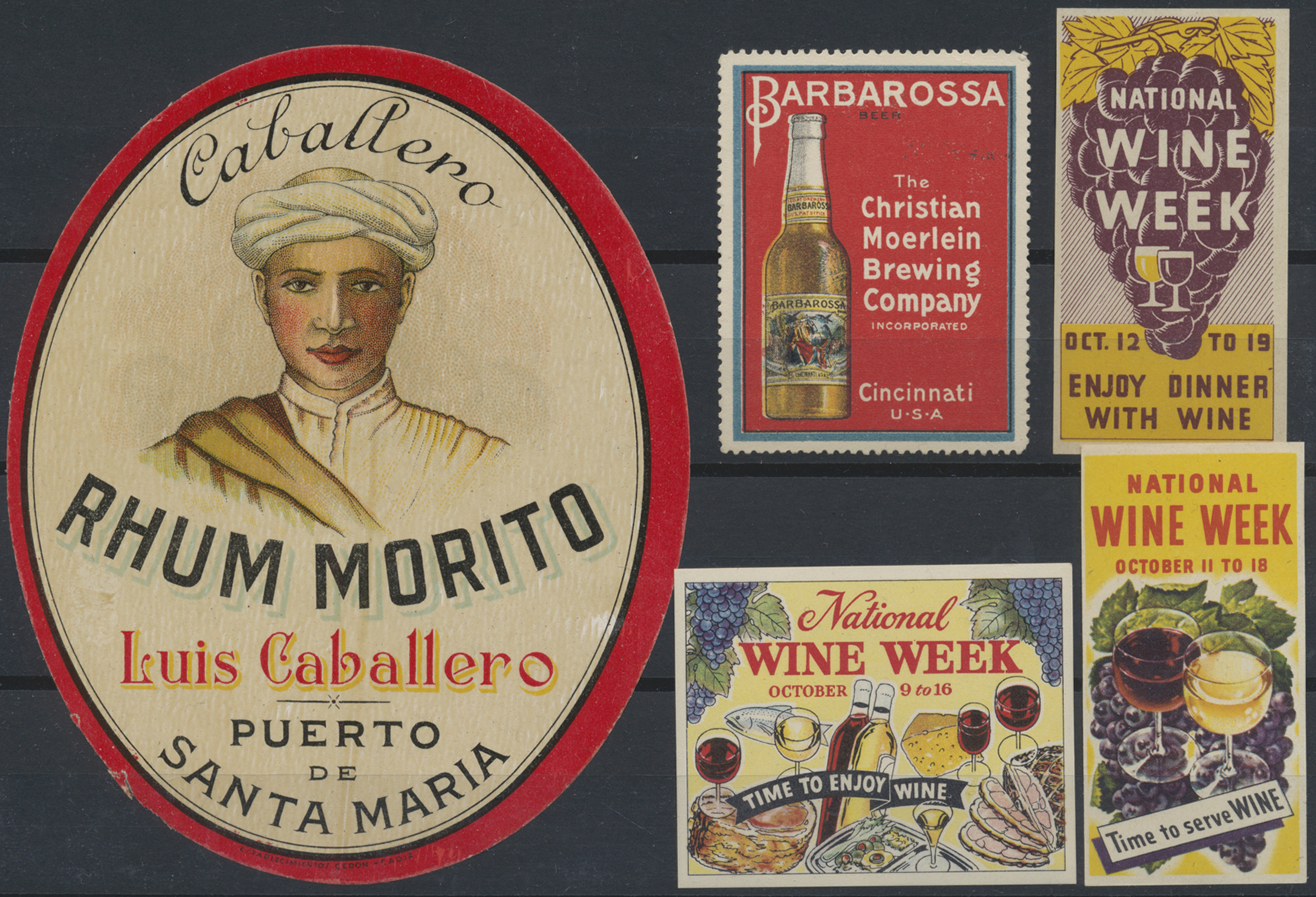 Lot 06215 - thematik: alkohol / alcohol  -  Auktionshaus Christoph Gärtner GmbH & Co. KG Special Auction 26.- 28. May 2020 Day 3 Collections - Thematics and Picture Post Cards