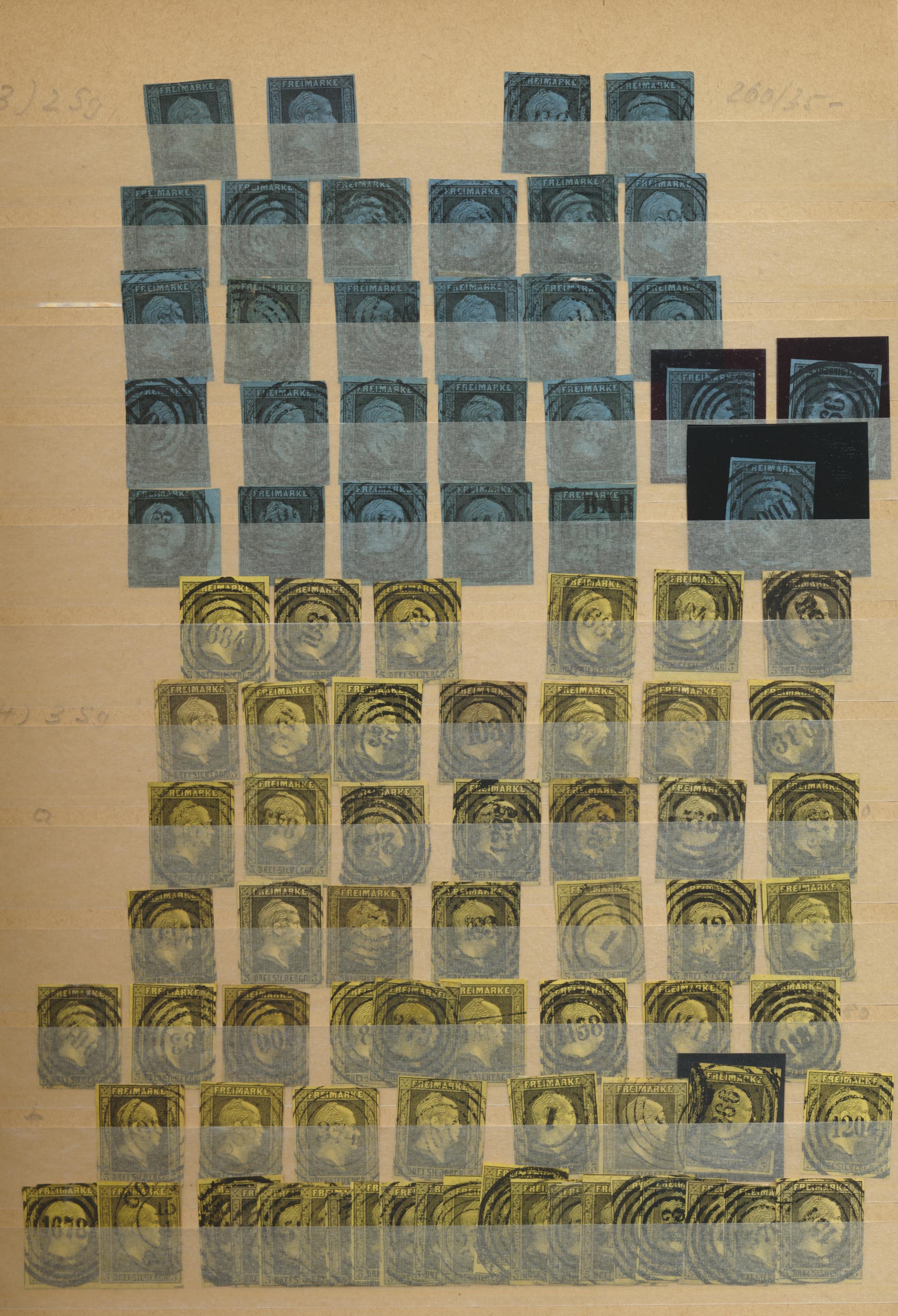Lot 24343 - Preußen - Marken und Briefe  -  Auktionshaus Christoph Gärtner GmbH & Co. KG Sale #47 Colections: Germany