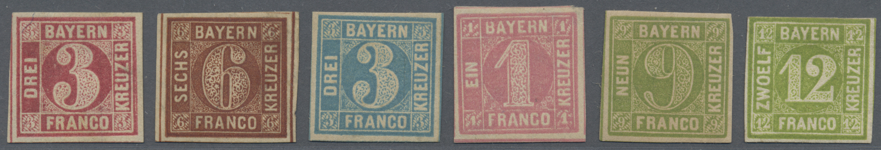 Lot 17065 - Bayern - Marken und Briefe  -  Auktionshaus Christoph Gärtner GmbH & Co. KG Auction #40 Germany, Picture Post Cards, Collections Overseas, Thematics