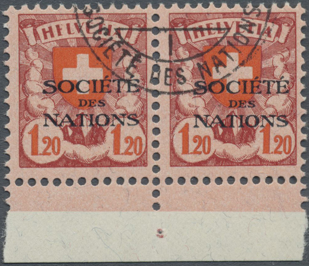 Lot 18985 - Schweiz - Völkerbund (SDN)  -  Auktionshaus Christoph Gärtner GmbH & Co. KG Single lots Philately Overseas & Europe. Auction #39 Day 4