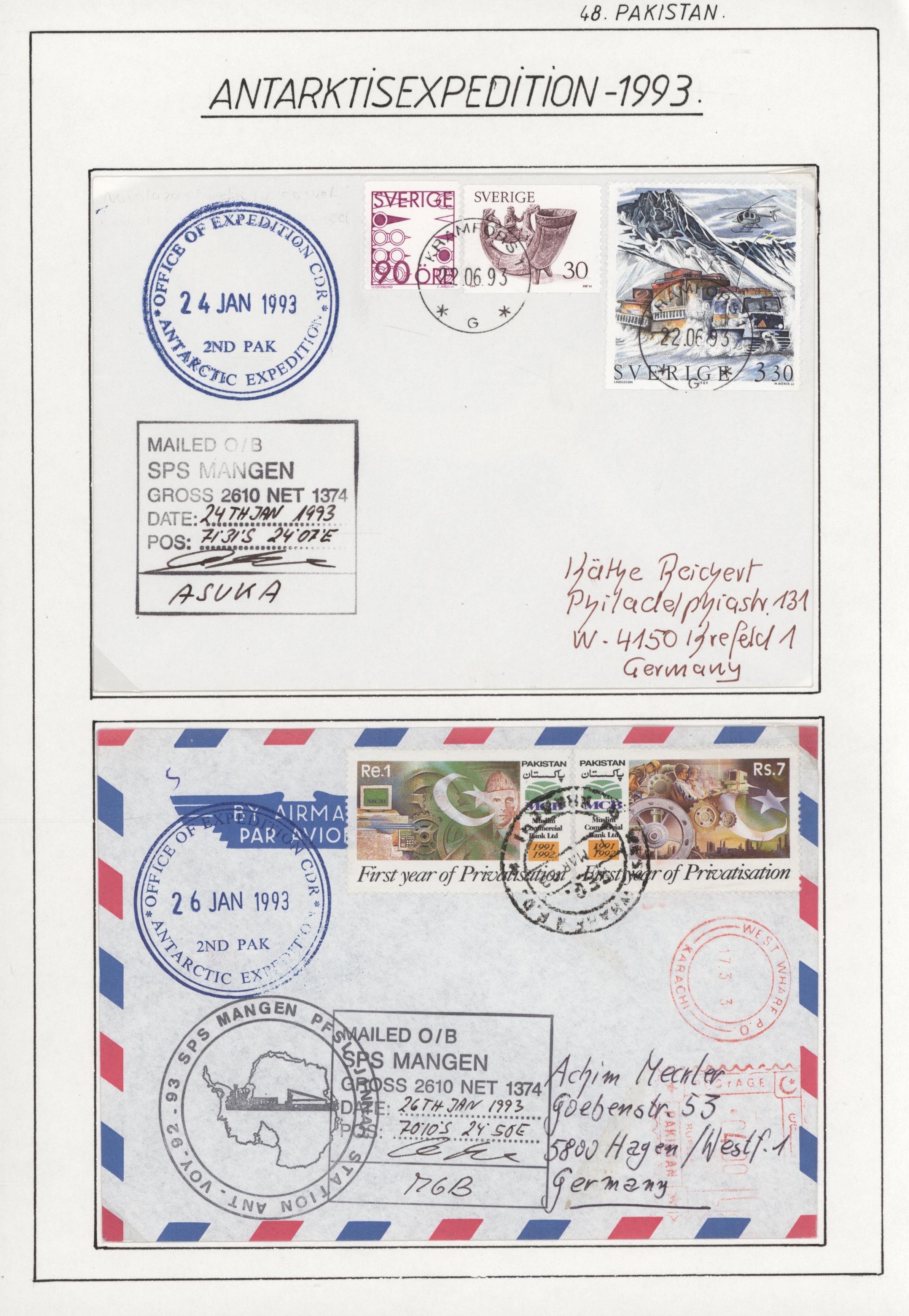 Lot 10515 - thematik: antarktis / antarctic  -  Auktionshaus Christoph Gärtner GmbH & Co. KG 51th Auction - Day 4