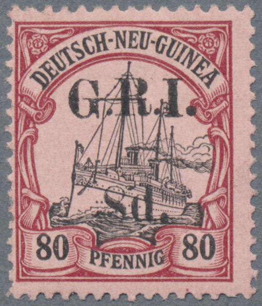 Lot 00018 - Deutsch-Neuguinea - Britische Besetzung  -  Auktionshaus Christoph Gärtner GmbH & Co. KG Special Auction Collection PETER ZGONC