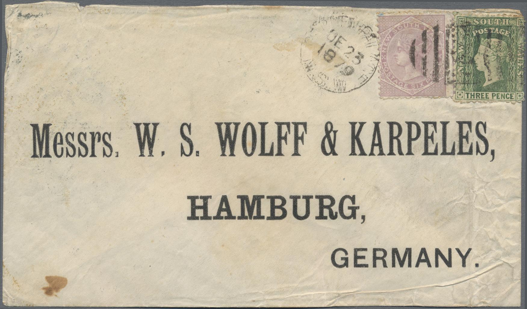 Lot 03005A - neusüdwales  -  Auktionshaus Christoph Gärtner GmbH & Co. KG Sale #49 Special catalogue Australia, USA – Wells Fargo