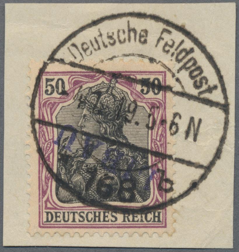 Lot 00017 - Deutsche Besetzung I. WK: Postgebiet Ober. Ost - Libau  -  Auktionshaus Christoph Gärtner GmbH & Co. KG Sale #44 The PETER ZGONC COLLECTION