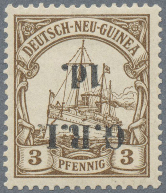 Lot 00001 - Deutsch-Neuguinea - Britische Besetzung  -  Auktionshaus Christoph Gärtner GmbH & Co. KG Special Auction Collection PETER ZGONC