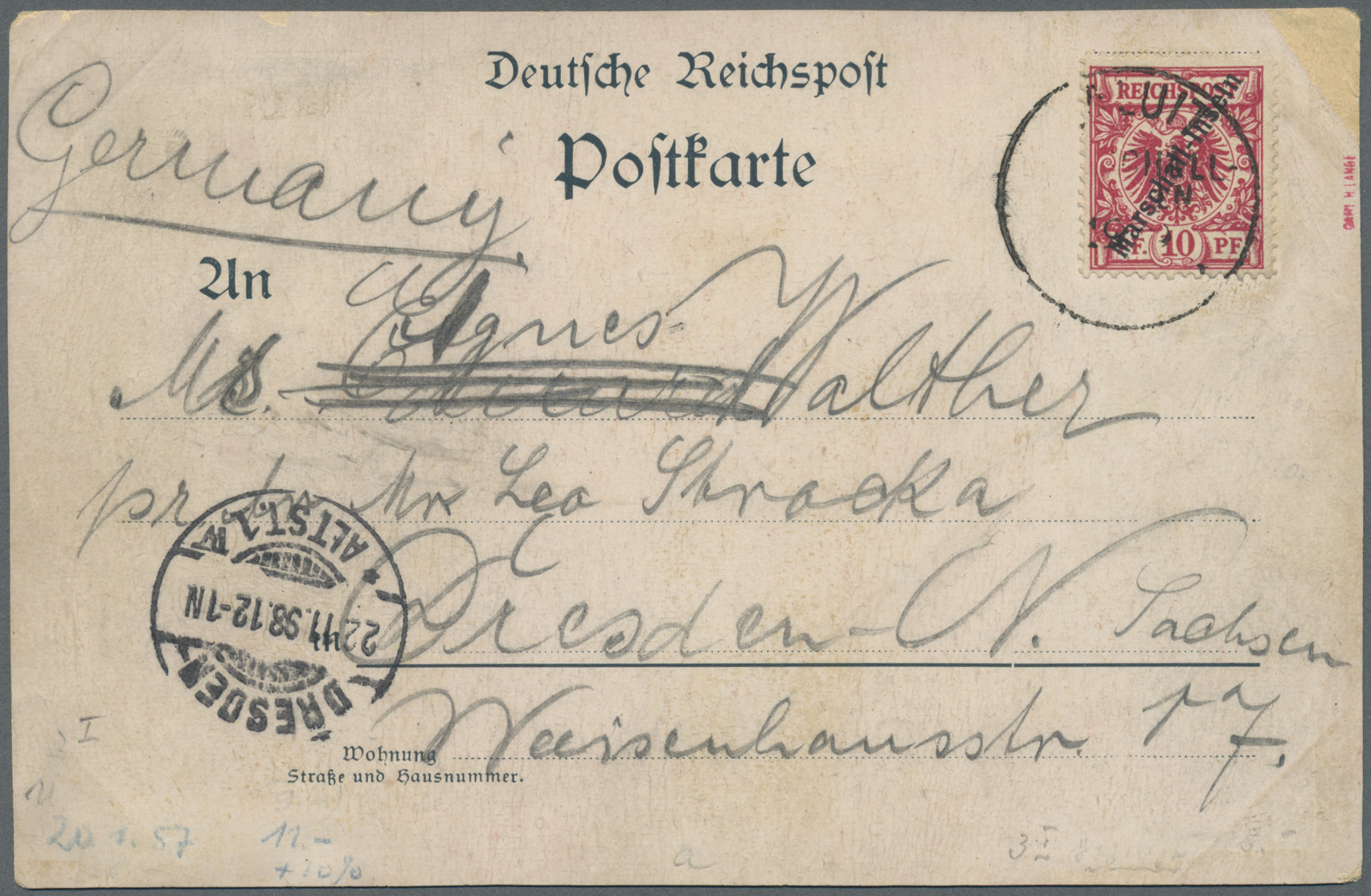 Lot 18762 - Deutsche Kolonien - Marshall-Inseln  -  Auktionshaus Christoph Gärtner GmbH & Co. KG Auction #40 Germany, Picture Post Cards, Collections Overseas, Thematics