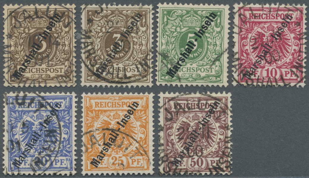 Lot 18773 - Deutsche Kolonien - Marshall-Inseln  -  Auktionshaus Christoph Gärtner GmbH & Co. KG Auction #40 Germany, Picture Post Cards, Collections Overseas, Thematics