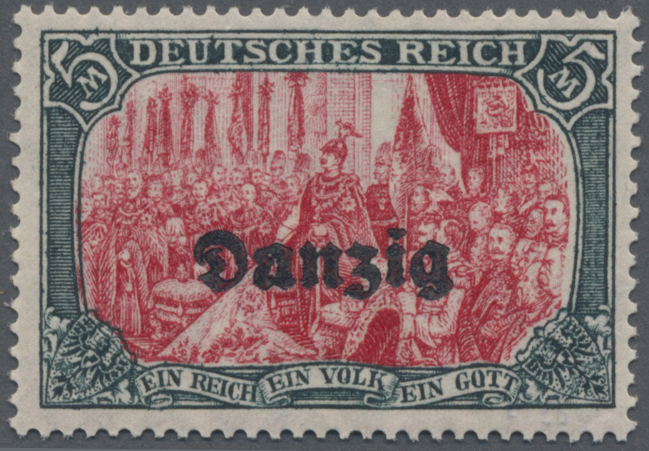 Lot 00068 - danzig  -  Auktionshaus Christoph Gärtner GmbH & Co. KG Sale #44 The PETER ZGONC COLLECTION