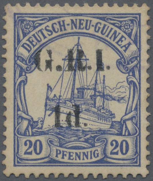 Lot 00006 - Deutsch-Neuguinea - Britische Besetzung  -  Auktionshaus Christoph Gärtner GmbH & Co. KG Special Auction Collection PETER ZGONC