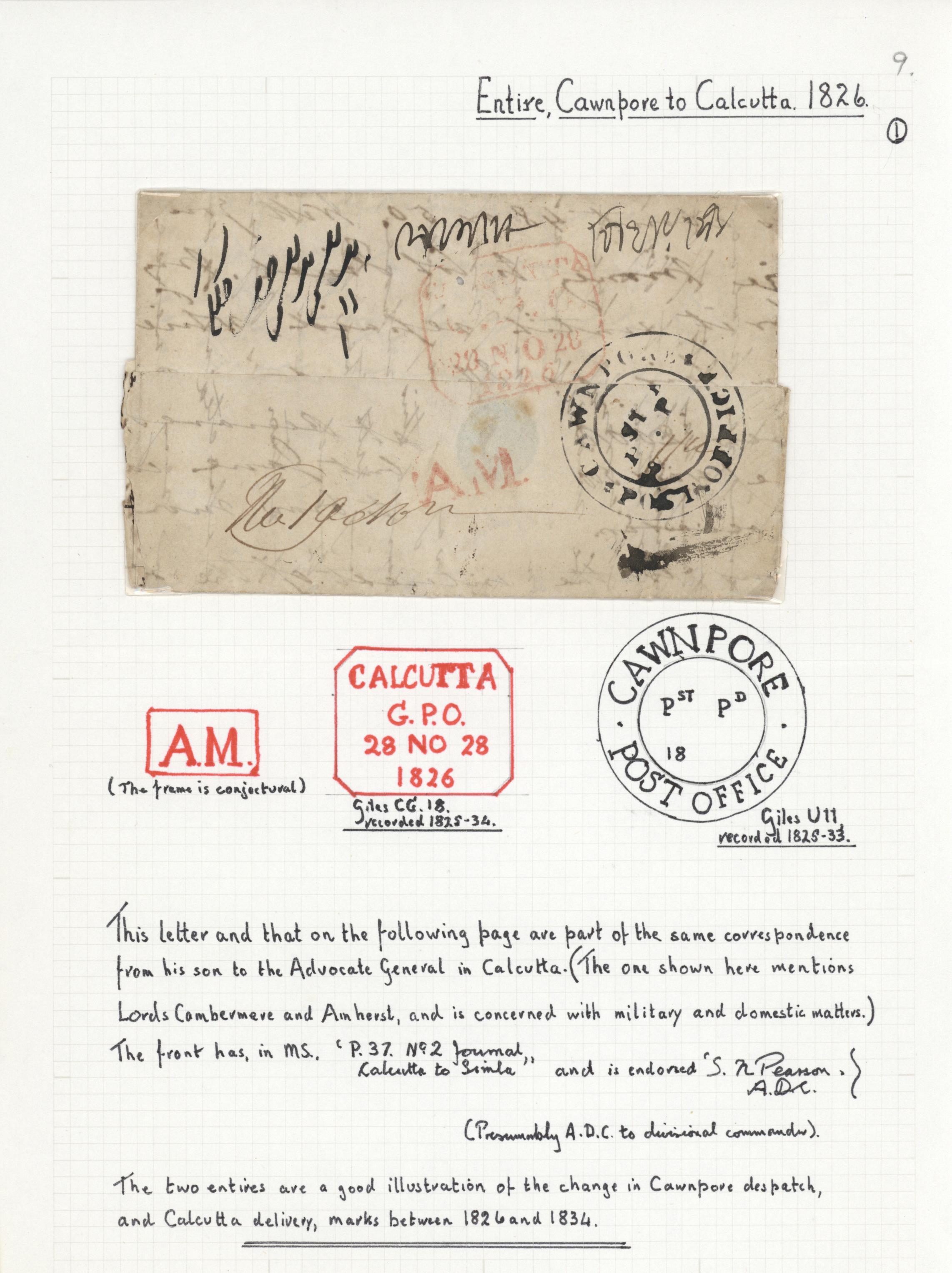 Lot 20711 - Indien - Vorphilatelie  -  Auktionshaus Christoph Gärtner GmbH & Co. KG Sale #46 Collections Worldwide