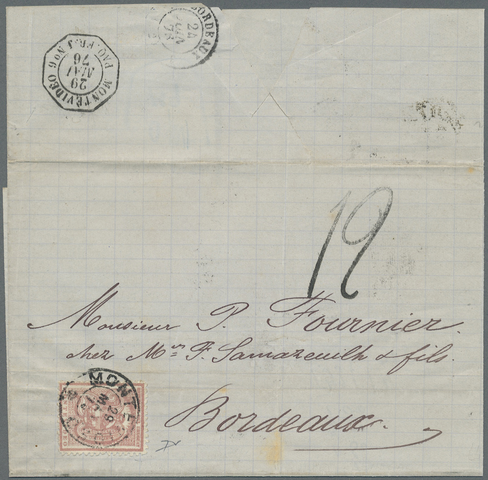 Lot 11216 - Uruguay  -  Auktionshaus Christoph Gärtner GmbH & Co. KG Sale #45- ASIA/OVERSEAS/EUROPE