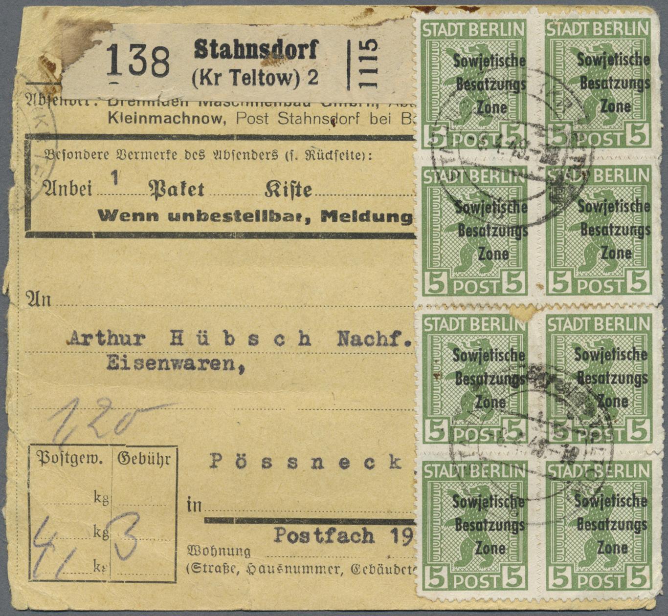 post stahnsdorf