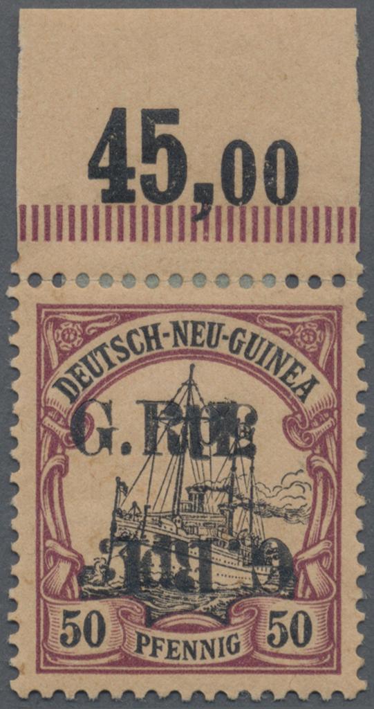 Lot 00017 - Deutsch-Neuguinea - Britische Besetzung  -  Auktionshaus Christoph Gärtner GmbH & Co. KG Special Auction Collection PETER ZGONC