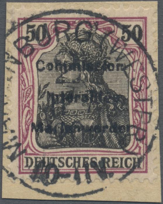 Lot 00024 - Deutsche Abstimmungsgebiete: Marienwerder  -  Auktionshaus Christoph Gärtner GmbH & Co. KG Sale #44 The PETER ZGONC COLLECTION