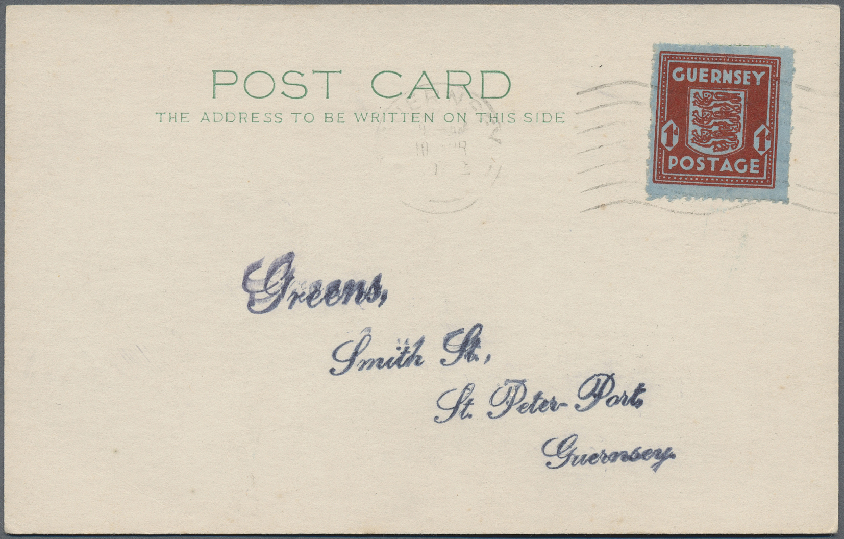 Lot 19441 - Dt. Besetzung II WK - Guernsey  -  Auktionshaus Christoph Gärtner GmbH & Co. KG Auction #40 Germany, Picture Post Cards, Collections Overseas, Thematics
