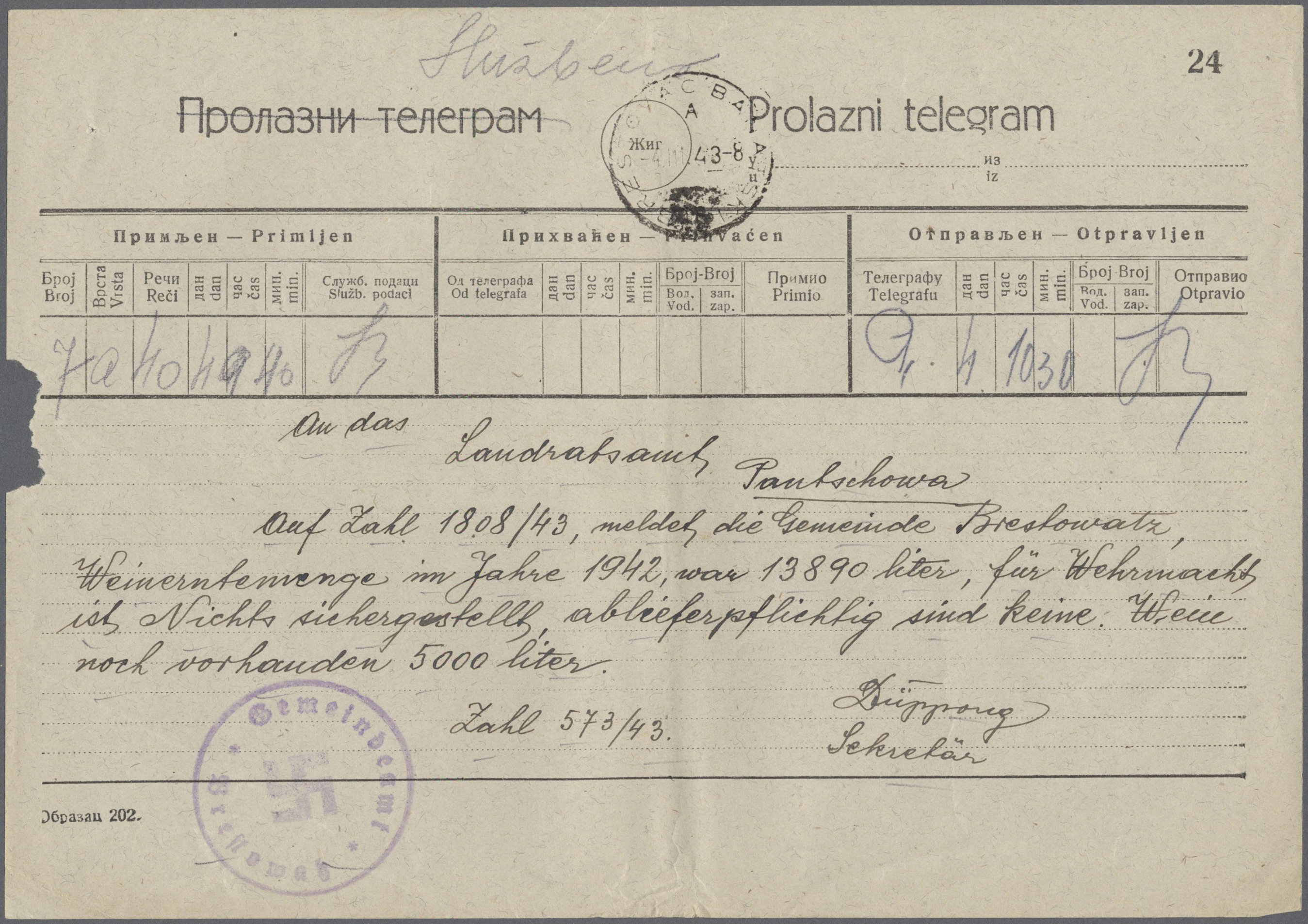 Lot 37563 - Dt. Besetzung II WK - Serbien  -  Auktionshaus Christoph Gärtner GmbH & Co. KG Collections Germany,  Collections Supplement, Surprise boxes #39 Day 7