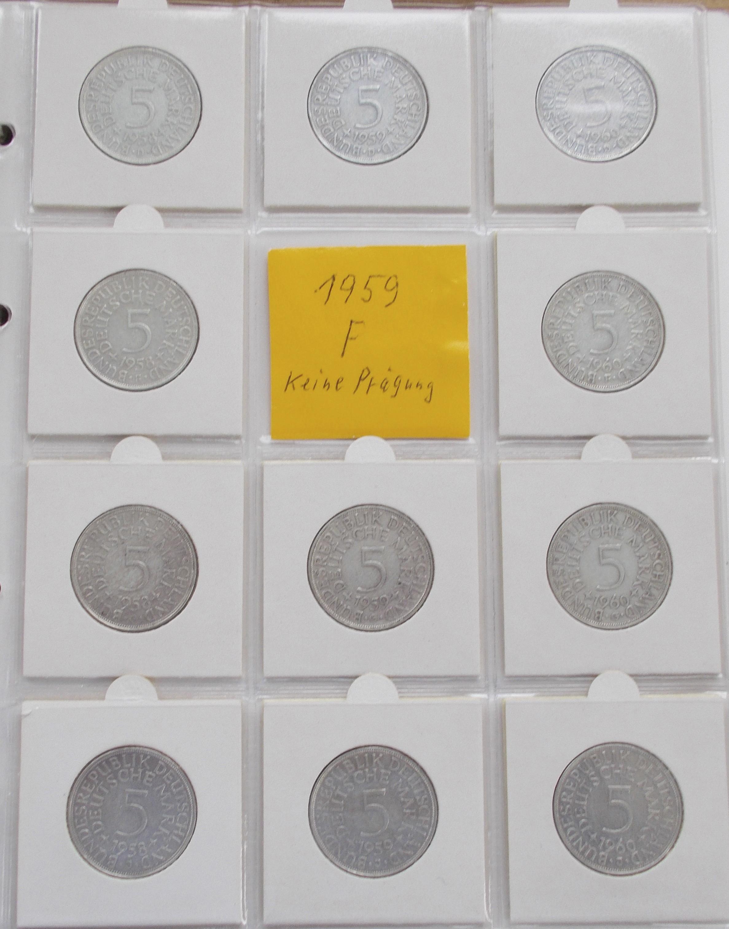 Lot 02802 - Deutschland ab 1945 | Münzen  -  Auktionshaus Christoph Gärtner GmbH & Co. KG Sale #48 The Coins & The Picture Post Cards