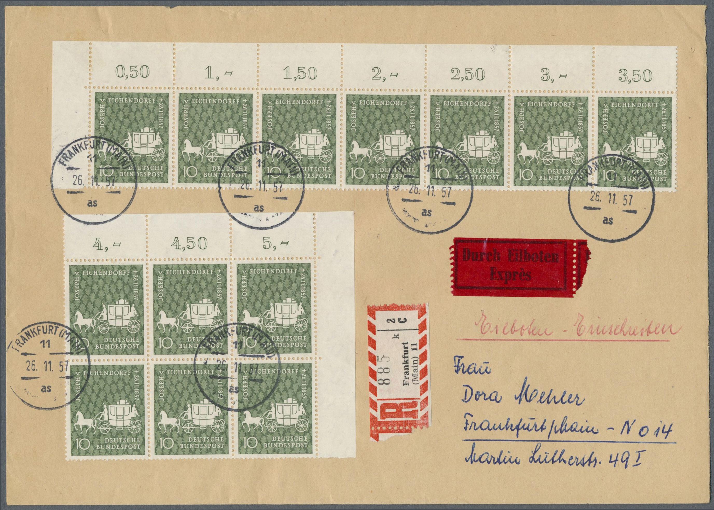 Lot 38450 - bundesrepublik deutschland  -  Auktionshaus Christoph Gärtner GmbH & Co. KG Collections Germany,  Collections Supplement, Surprise boxes #39 Day 7