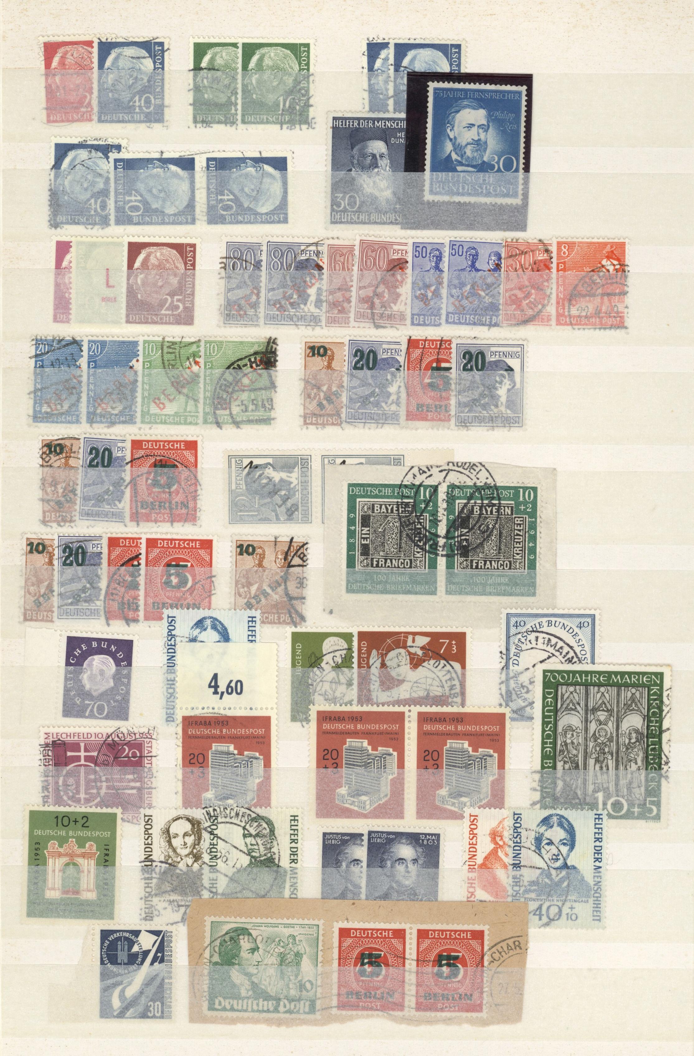 Lot 38099 - bundesrepublik und berlin  -  Auktionshaus Christoph Gärtner GmbH & Co. KG Collections Germany,  Collections Supplement, Surprise boxes #39 Day 7