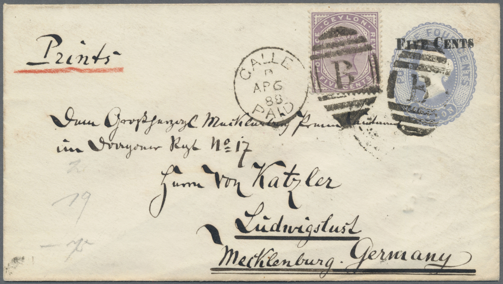 Lot 14927 - alle welt  -  Auktionshaus Christoph Gärtner GmbH & Co. KG Sale #48 collections Overseas  Airmail / Ship mail & Thematics