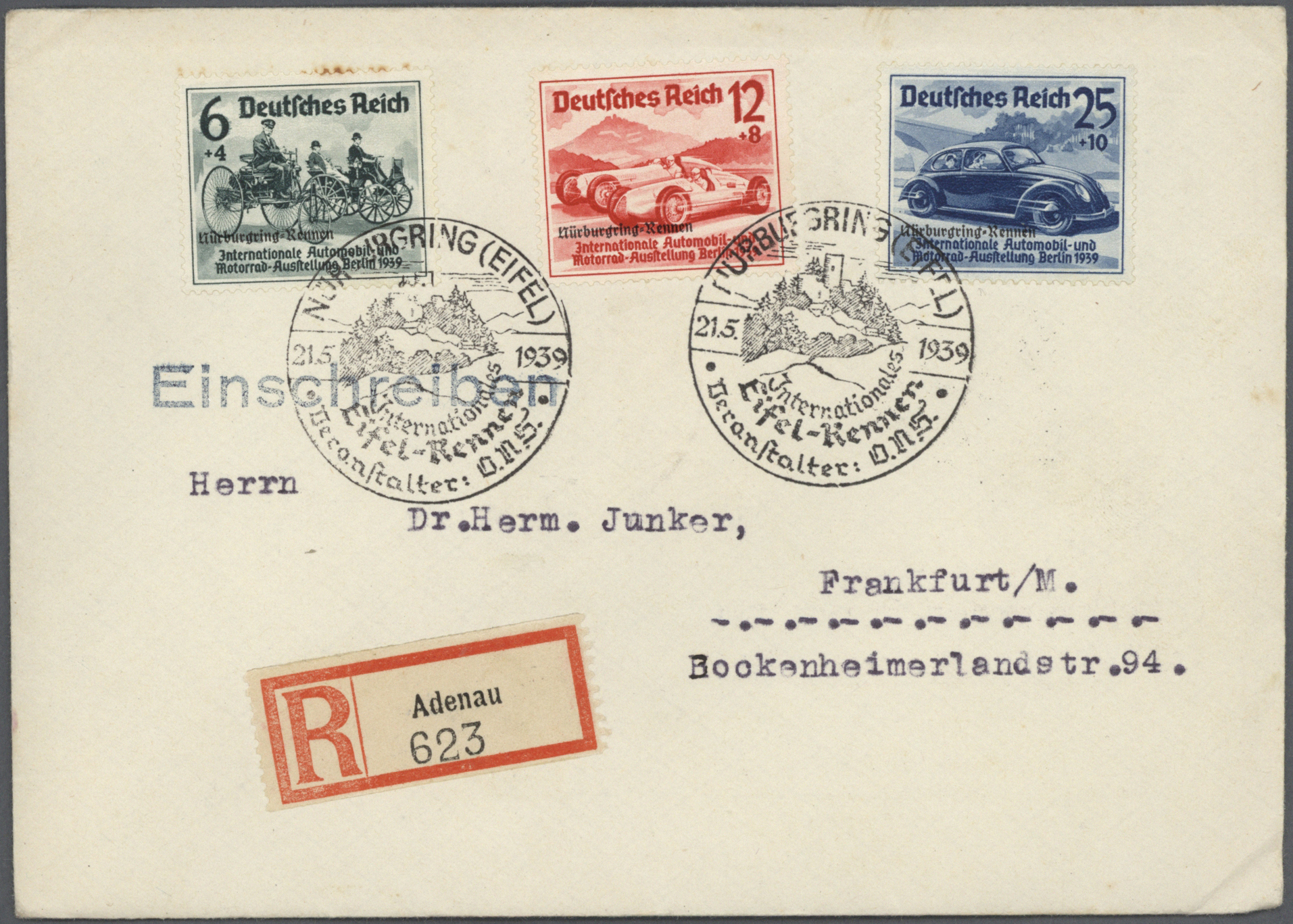 Lot 34161 - nachlässe  -  Auktionshaus Christoph Gärtner GmbH & Co. KG Collections Germany,  Collections Supplement, Surprise boxes #39 Day 7