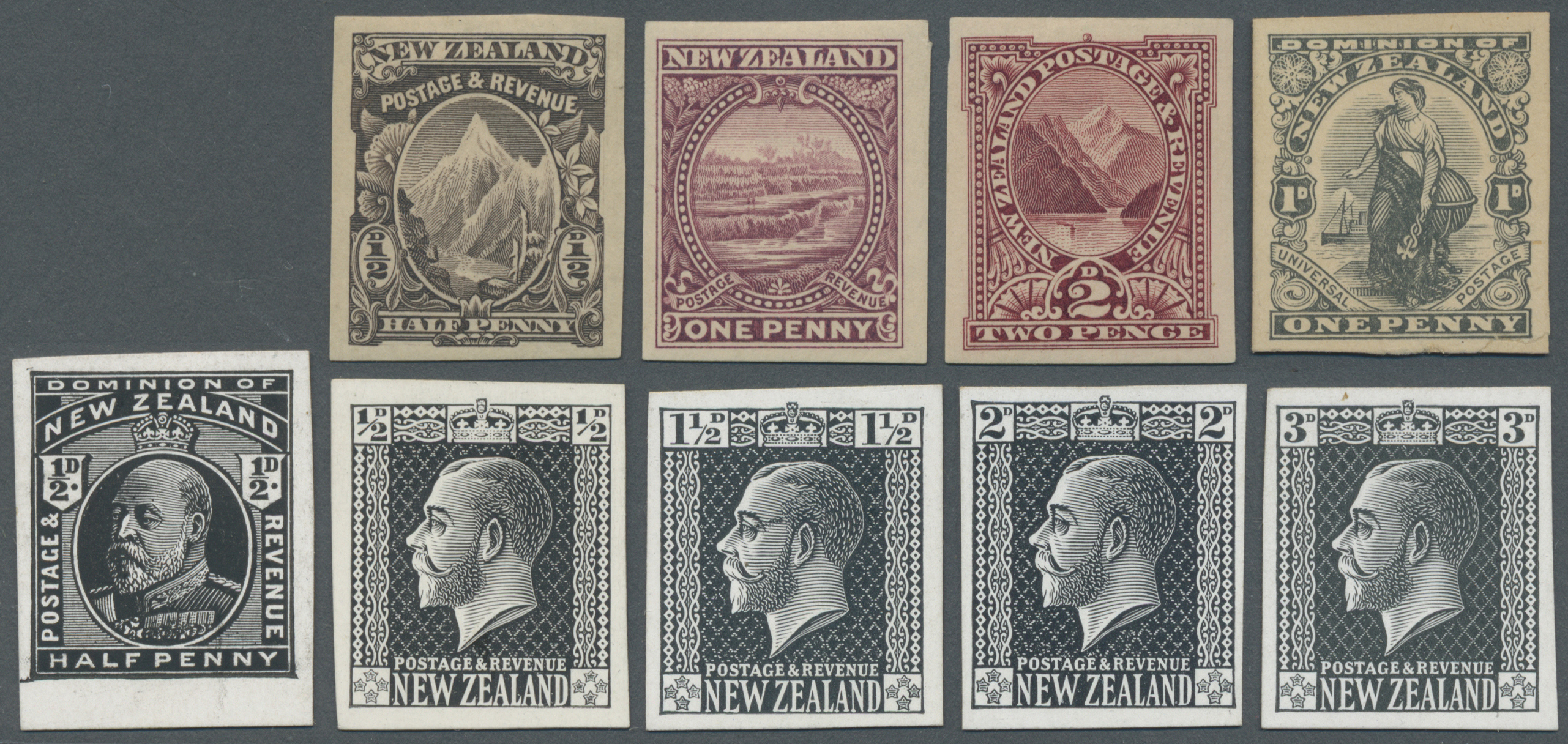 Lot 14171 - neuseeland  -  Auktionshaus Christoph Gärtner GmbH & Co. KG Single lots Philately Overseas & Europe. Auction #39 Day 4