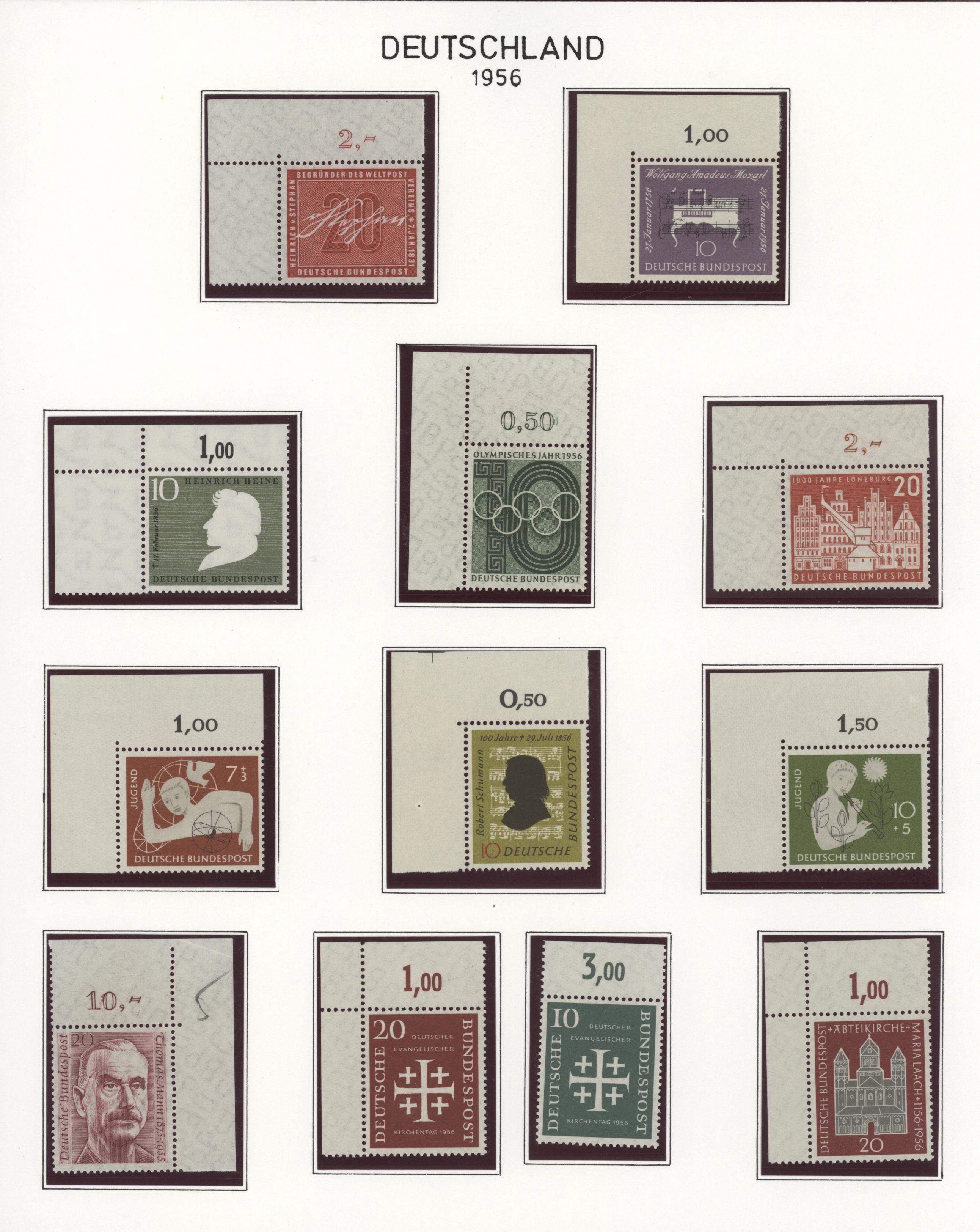 Lot 37609 - bundesrepublik deutschland  -  Auktionshaus Christoph Gärtner GmbH & Co. KG Sale #44 Collections Germany