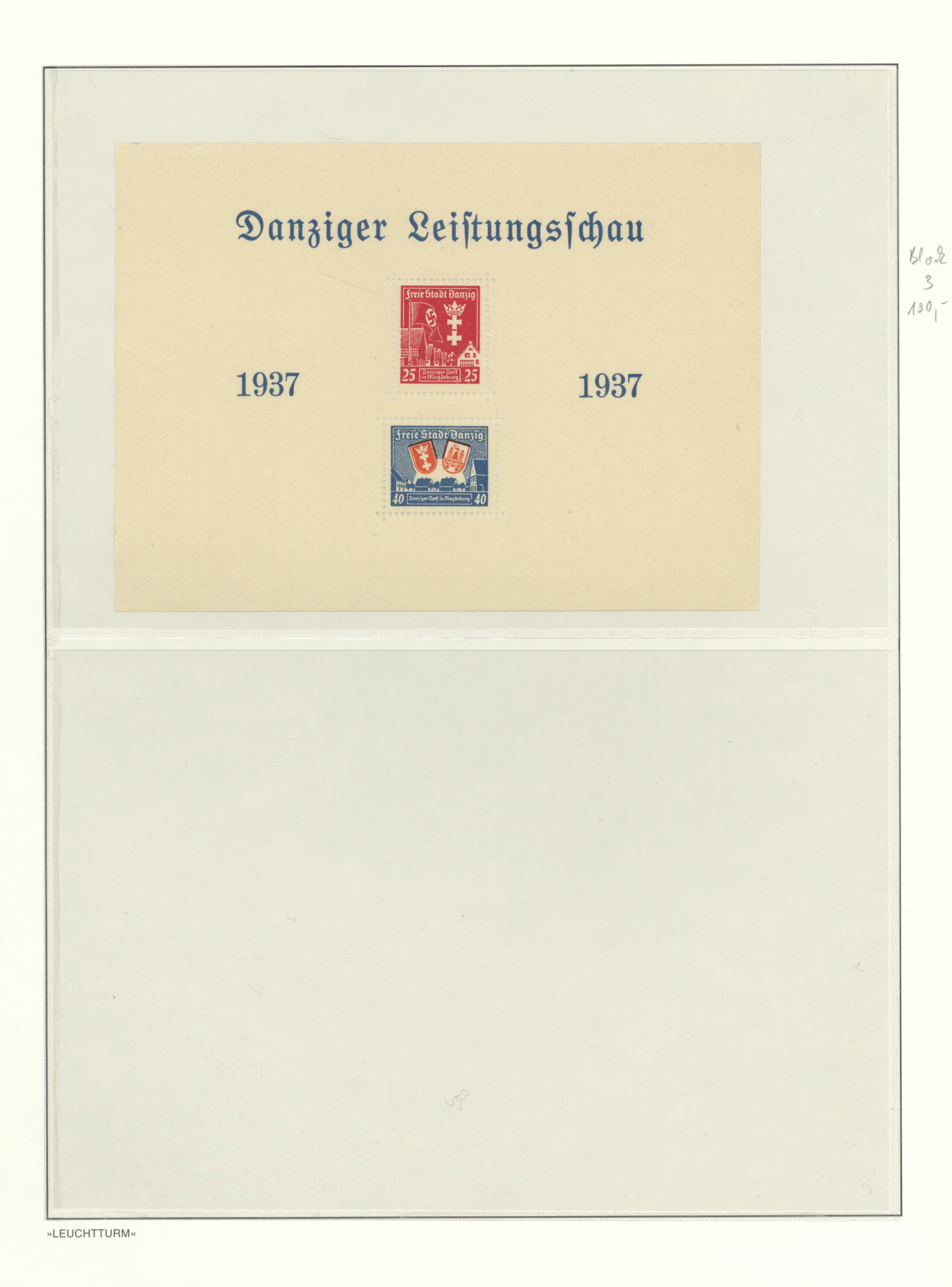 Lot 37466 - danzig  -  Auktionshaus Christoph Gärtner GmbH & Co. KG Collections Germany,  Collections Supplement, Surprise boxes #39 Day 7