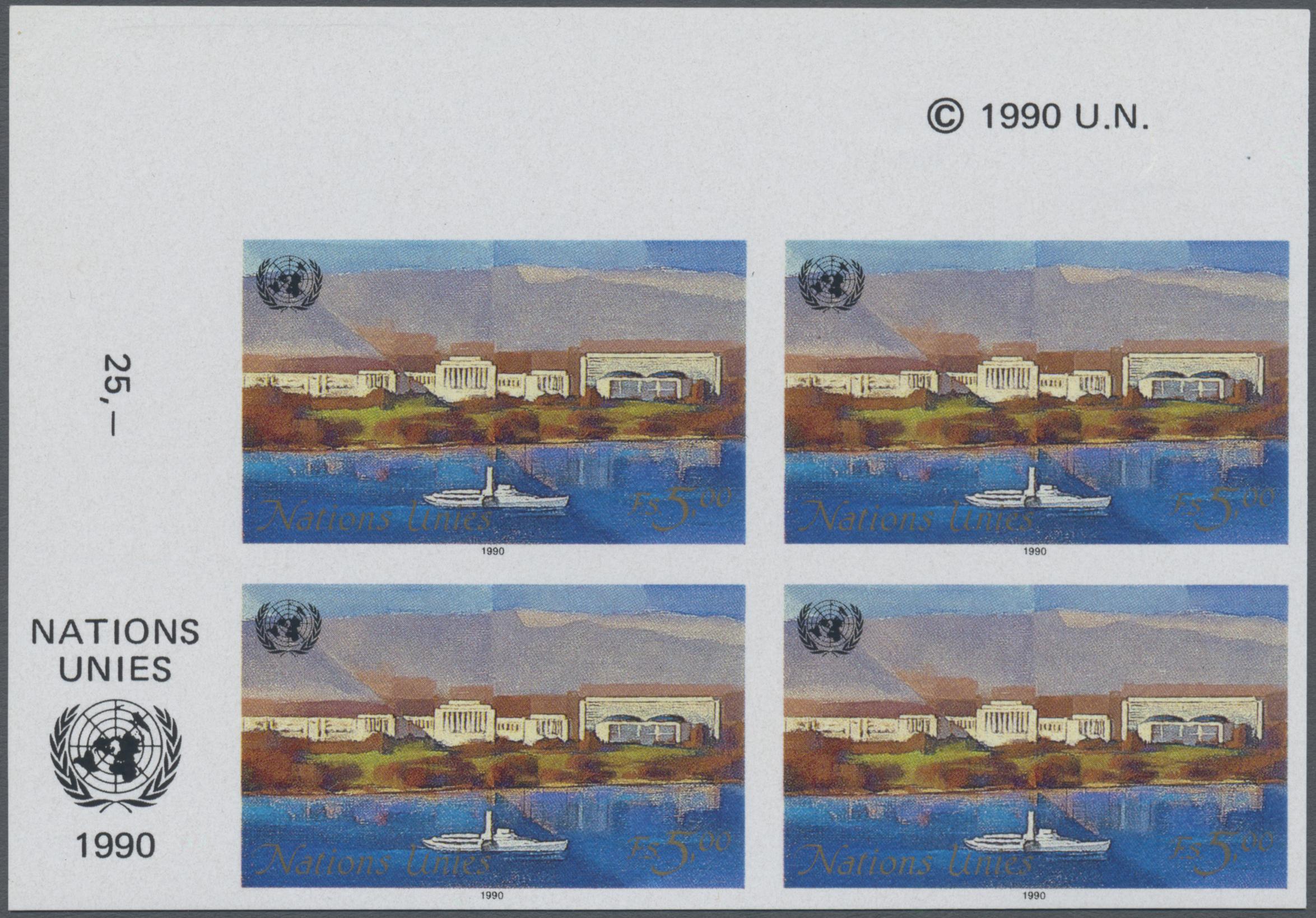 Briefmarken Block 1987 Postfrisch World Heritage List Zypern