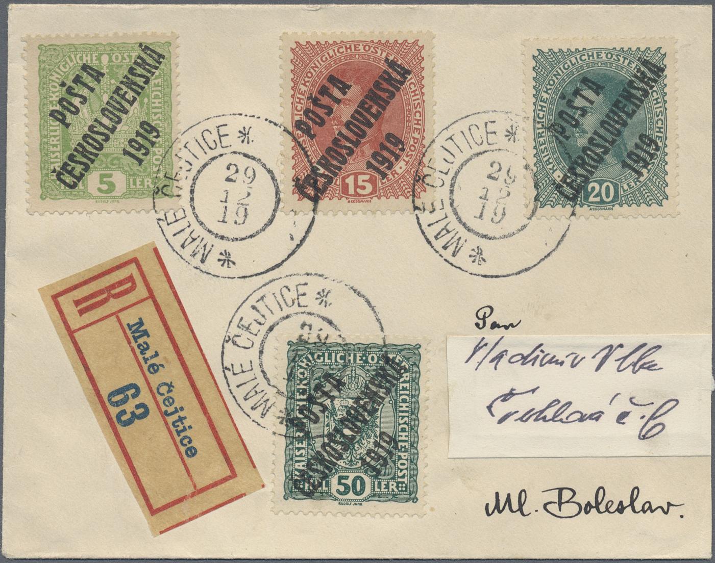 Lot 29748 - tschechoslowakei  -  Auktionshaus Christoph Gärtner GmbH & Co. KG Sale #45Collections Worldwide