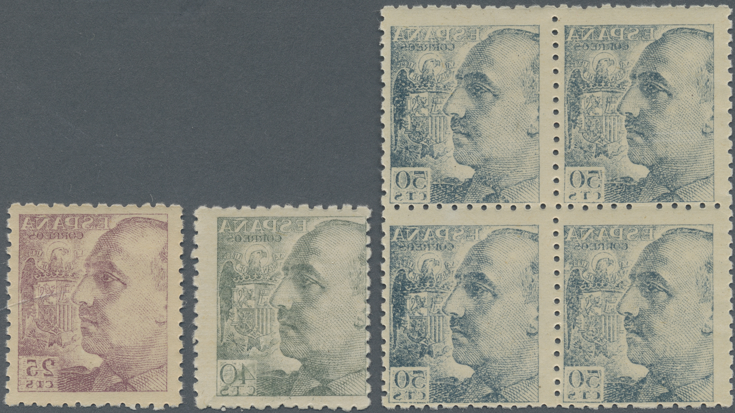 Lot 19253 - spanien  -  Auktionshaus Christoph Gärtner GmbH & Co. KG Sale #48 collections Overseas  Airmail / Ship mail & Thematics